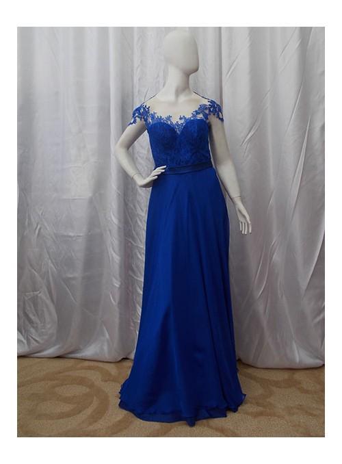 Vestido Tatuagem Azul